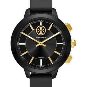 TORY BURCH Collins Hybrid Rubber Strap Watch 38mm